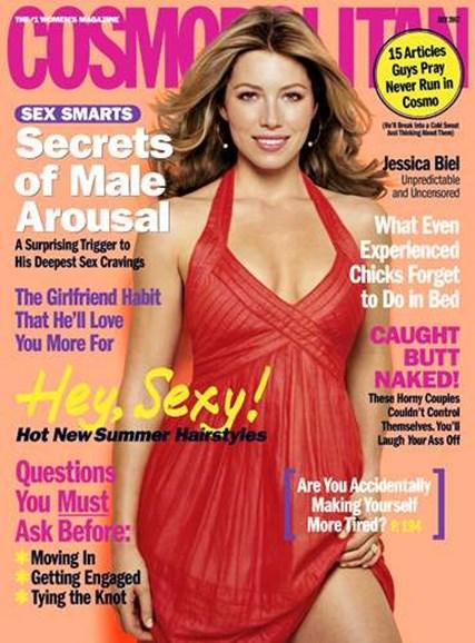 Cosmopolitan Cover - 7/1/2007