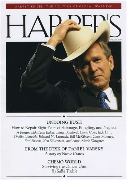Harper's Cover - 6/1/2007