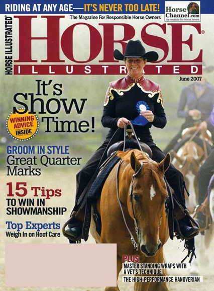 Horse Illustrated Cover - 6/1/2007