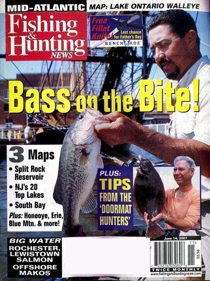 Fishing & Hunting News Cover - 6/1/2007