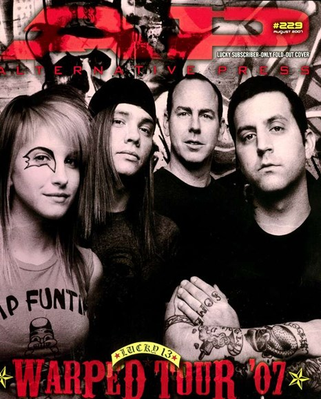 Alternative Press Cover - 8/1/2007