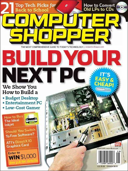 Computer Shopper Cover - 7/1/2007