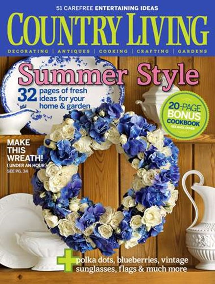 Country Living Cover - 9/1/2007