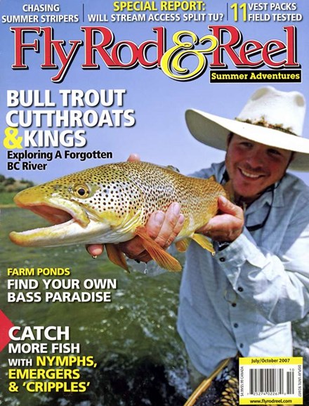 Fly Rod & Reel Magazine Cover - 7/1/2007