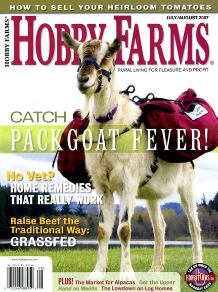 Hobby Farms Cover - 8/1/2007