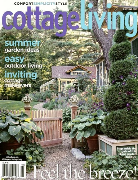 Cottage Living Cover - 6/1/2007