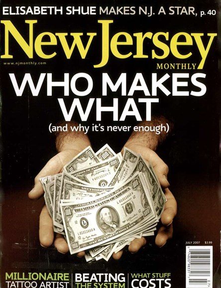 New Jersey Monthly Cover - 7/1/2007
