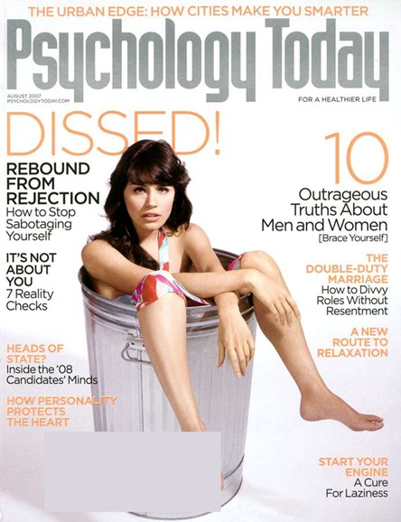 Psychology Today Cover - 8/1/2007