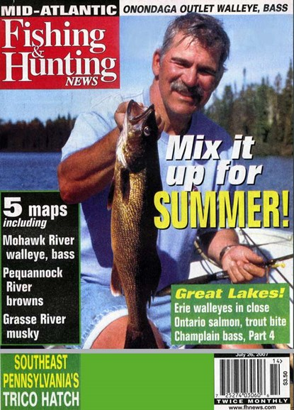 Fishing & Hunting News Cover - 7/1/2007