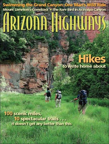 Arizona Highways Cover - 9/1/2007