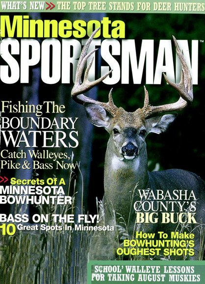 Minnesota Sportsman Cover - 8/1/2007