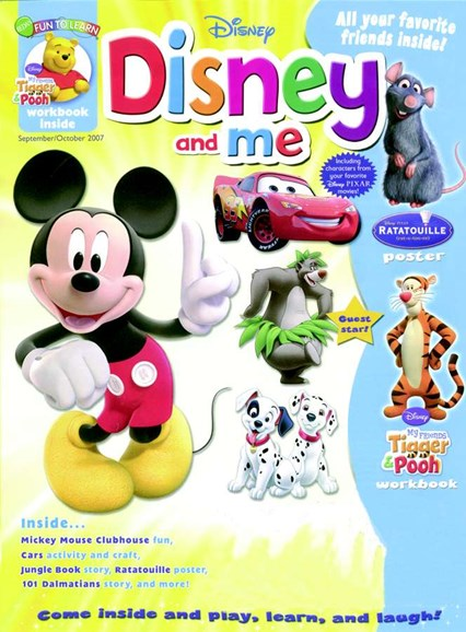 Disney Junior Cover - 9/1/2007