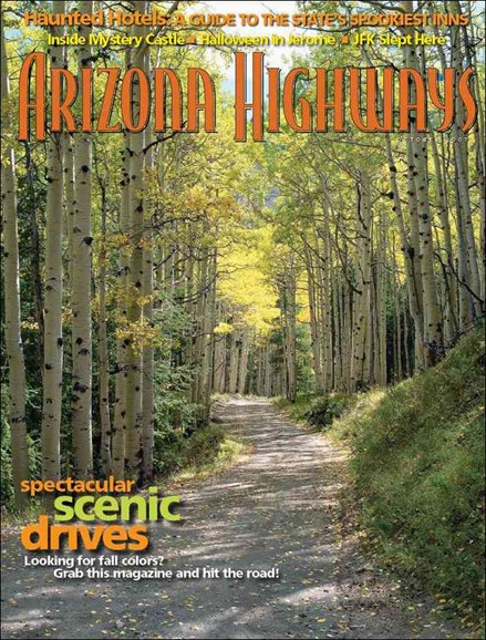Arizona Highways Cover - 10/1/2007