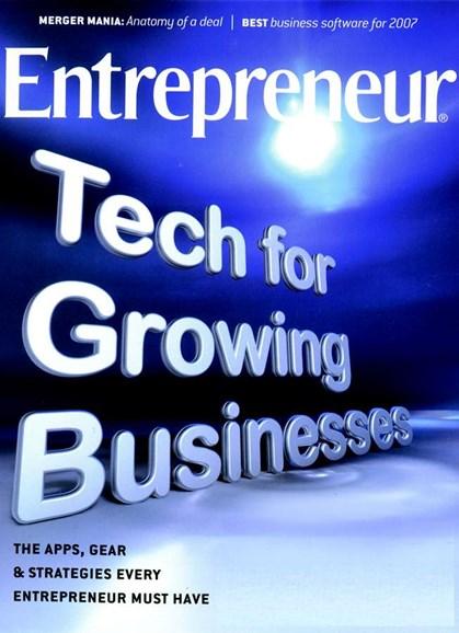 Entrepreneur Cover - 8/1/2007