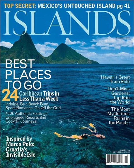 Islands Cover - 11/1/2007