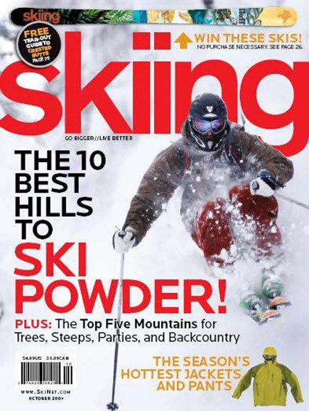 Skiing Cover - 10/1/2007