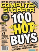 Computer Shopper (digital only) 11/1/2007