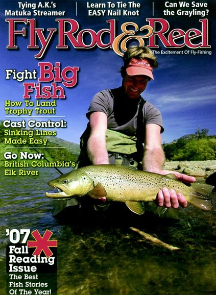 Fly Rod & Reel Magazine Cover - 10/1/2007