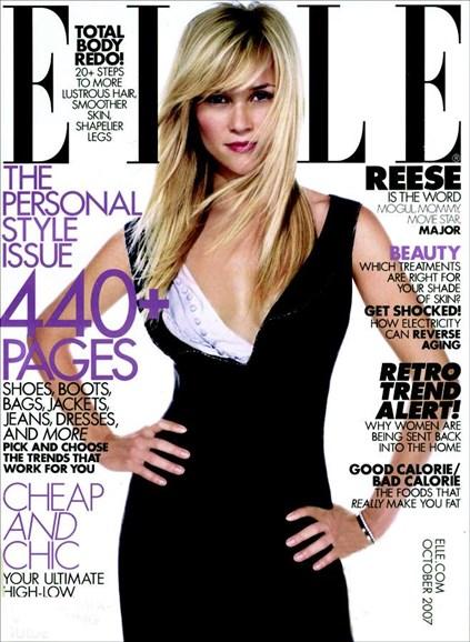 ELLE Cover - 10/1/2007