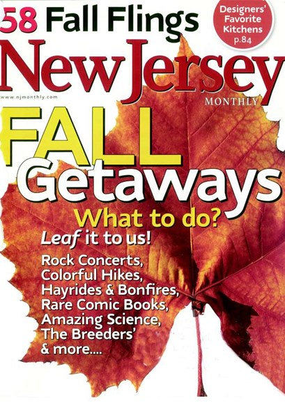 New Jersey Monthly Cover - 10/1/2007