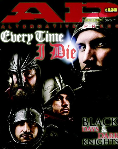 Alternative Press Cover - 11/1/2007