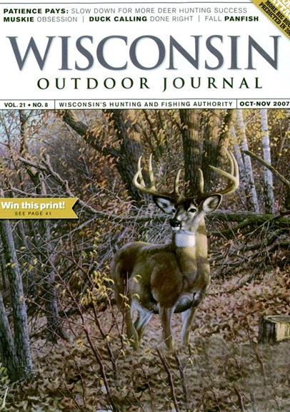 Wisconsin Outdoor Journal Cover - 10/1/2007