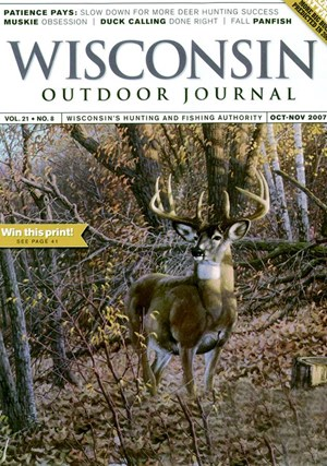 Wisconsin Outdoor Journal | 10/1/2007 Cover
