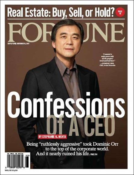 Fortune Cover - 11/12/2007