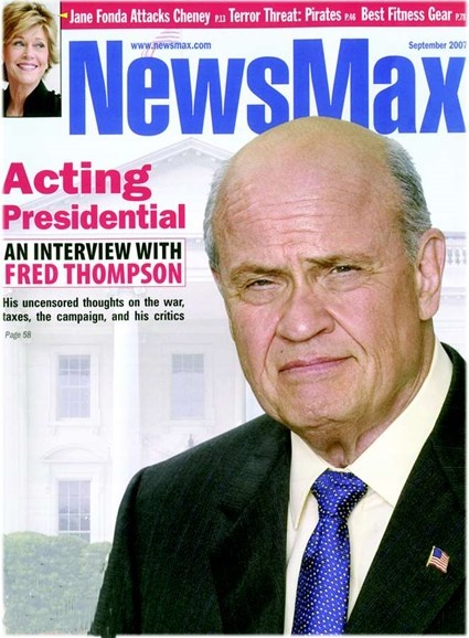 Newsmax Magazine Cover - 9/1/2007