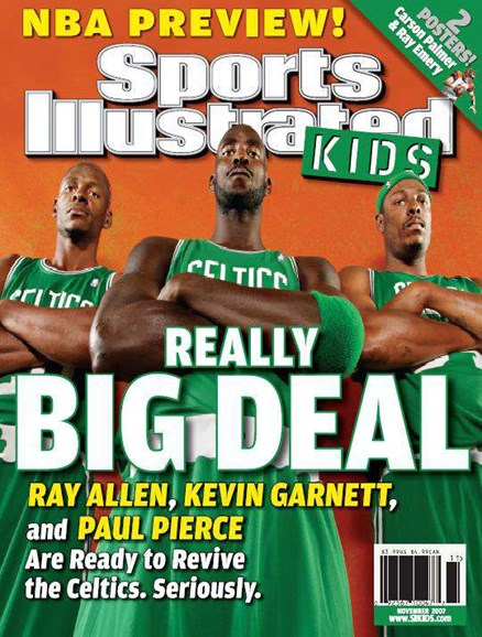 Sports Illustrated Kids Cover - 11/1/2007