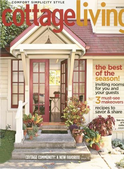 Cottage Living Cover - 11/1/2007
