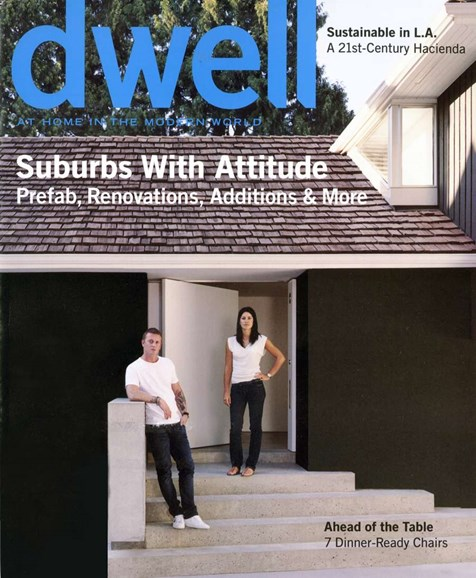 Dwell Cover - 1/1/2008