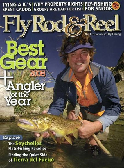 Fly Rod & Reel Magazine Cover - 12/1/2007