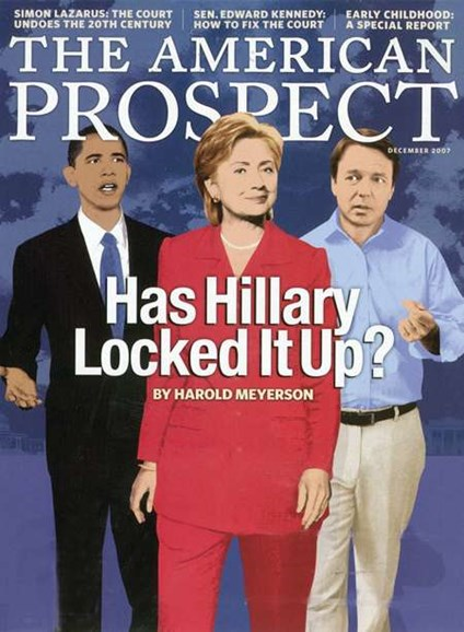 The American Prospect Cover - 12/1/2007