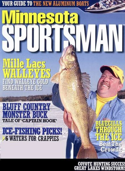 Minnesota Sportsman Cover - 1/1/2008
