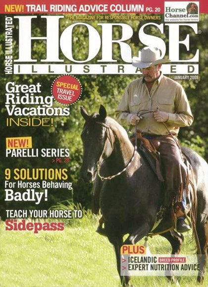 Horse Illustrated Cover - 1/1/2008