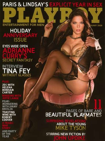 Playboy Cover - 1/1/2008