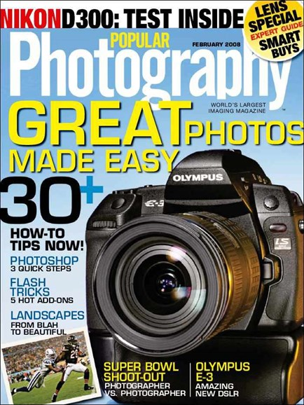 Popular Photography Cover - 2/1/2008