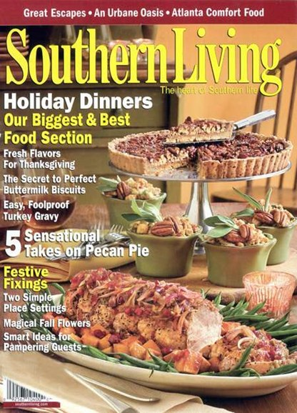 Southern Living Cover - 11/1/2007
