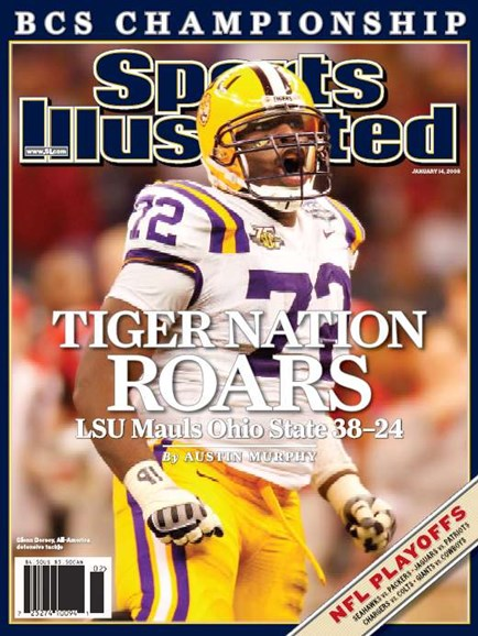 Sports Illustrated Cover - 1/14/2008