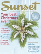 Sunset Magazine 12/1/2007
