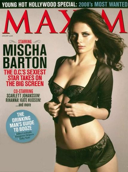 Maxim Cover - 1/1/2008