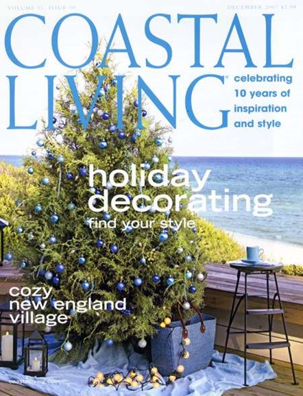 Coastal Living Cover - 12/1/2007