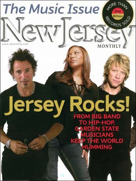 New Jersey Monthly Cover - 1/1/2008