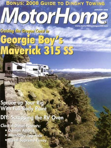 MotorHome Cover - 1/1/2008