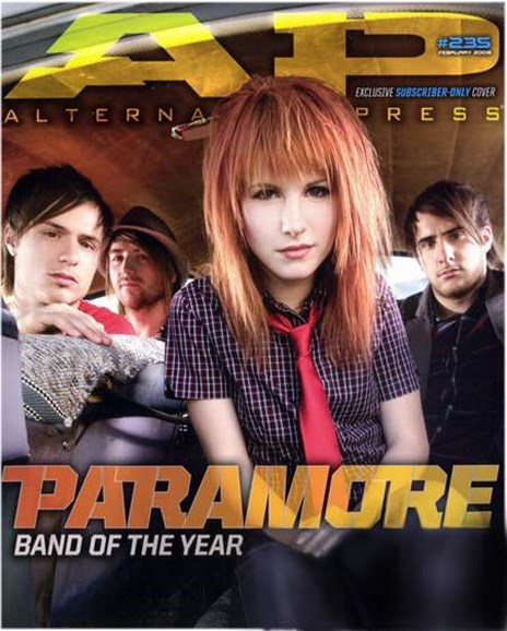 Alternative Press Cover - 2/1/2008