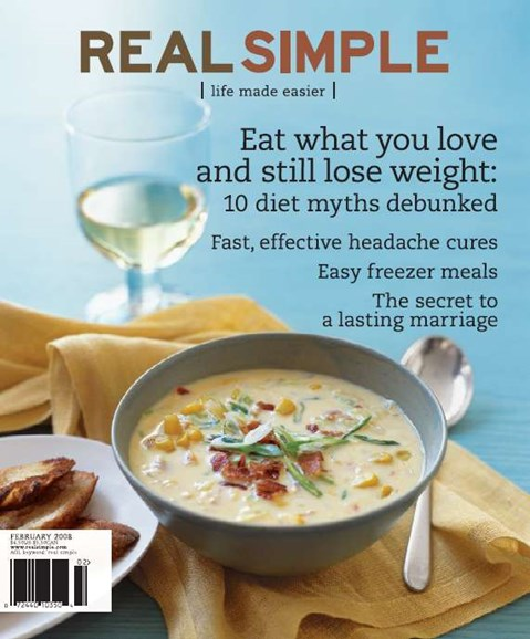 Real Simple Cover - 2/1/2008