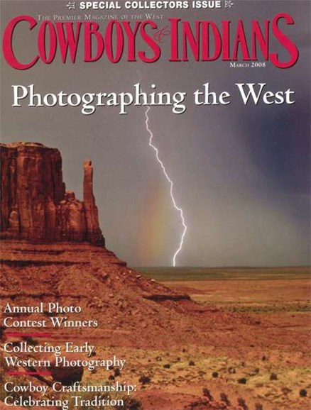 Cowboys & Indians Cover - 3/1/2008
