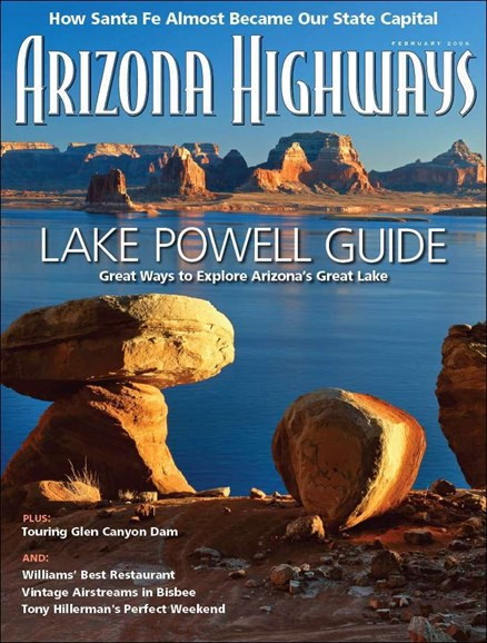 Arizona Highways Cover - 2/1/2008