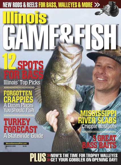Illinois Game & Fish Cover - 3/1/2008